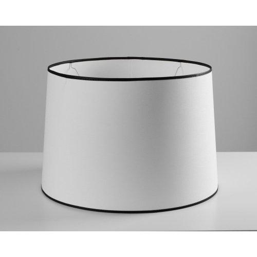 Abażur WHITE/BLACK 0845801 40x45x30cm
