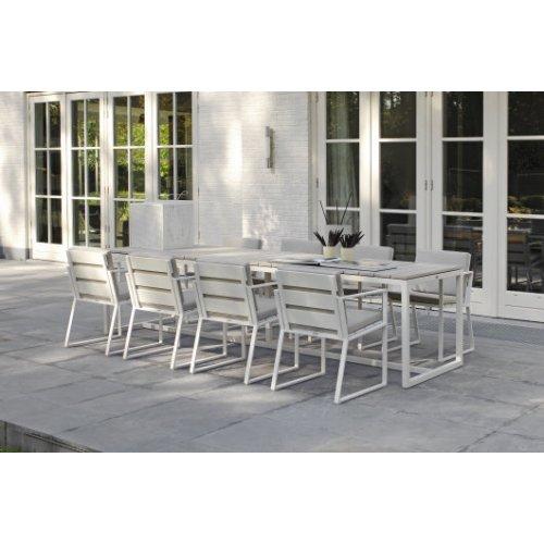 Stół ogrodowy VENICE 5441 White 240x90x75cm firmy Borek