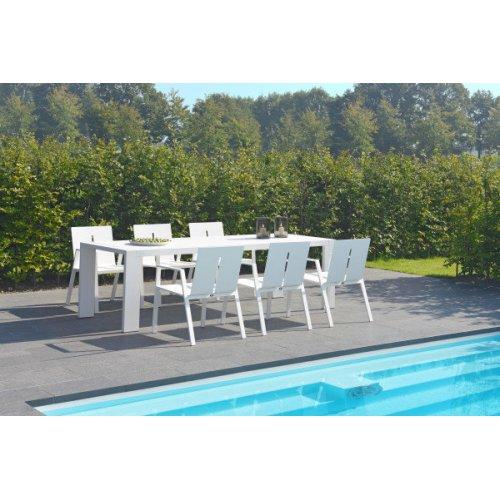 Stół ogrodowy PANAMA Small 7175 White Firmy Borek