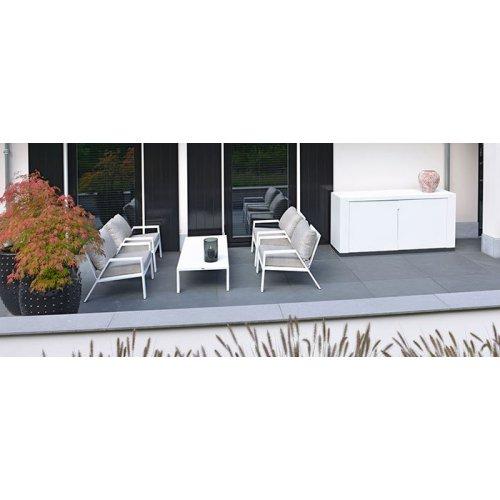 Fotel ogrodowy PANAMA Low 7171 White Firmy Borek