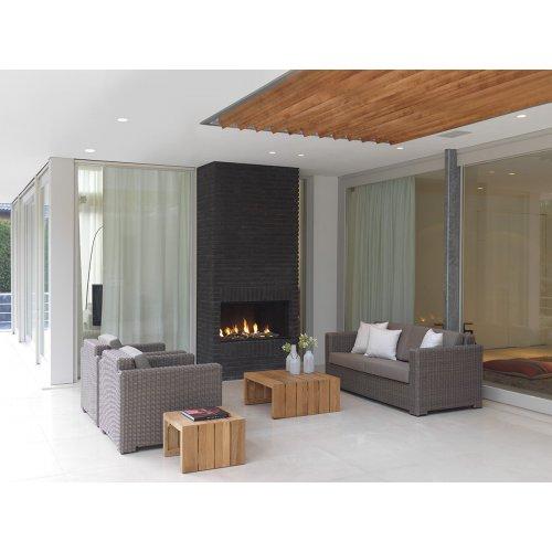 Fotel ogrodowy pleciony PLAZA Lounge 4053 Kubu 87x90x77,5cm firmy Borek
