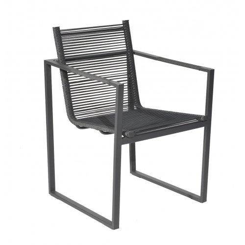 Krzesło ogrodowe ANDRIA 4340 Anthracite Firmy Borek