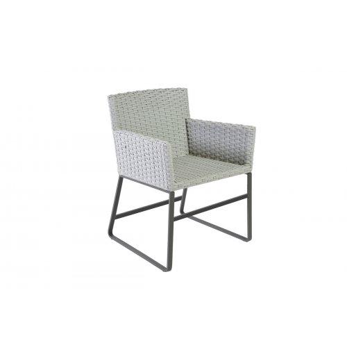 Fotel ogrodowy DEIA 4350 Iron Grey 59,5x59,5x78cm firmy Borek