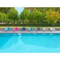 Fotel ogrodowy PASTURO lounge 4347 Navy 85x89x76cm firmy Borek