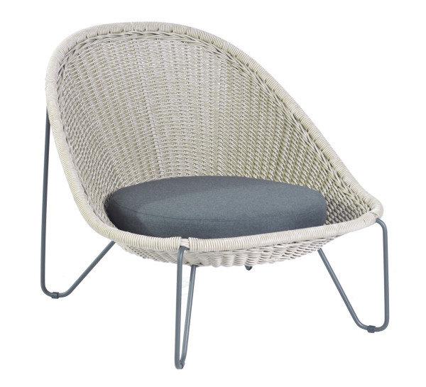 Fotel ogrodowy PASTURO lounge 4347 Sand 85x89x76cm firmy Borek