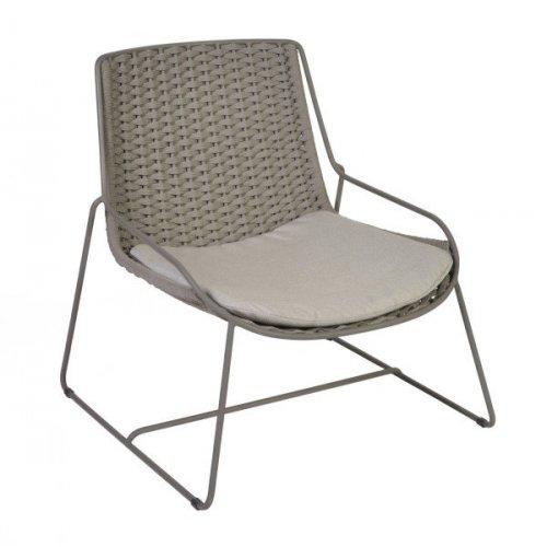 Fotel ogrodowy FERRAGUDO 4401 Slate 74,5x75x78cm firmy Borek