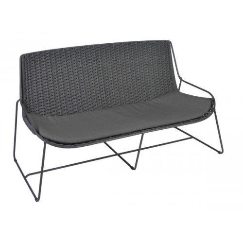 Sofa ogrodowa FERRAGUDO 4402 Anthracite 146x75x79cm firmy Borek