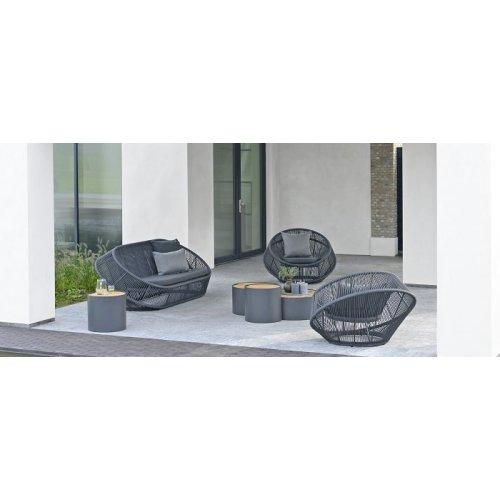 Kolekcja stolików ogrodowych FURORE Firmy Borek
