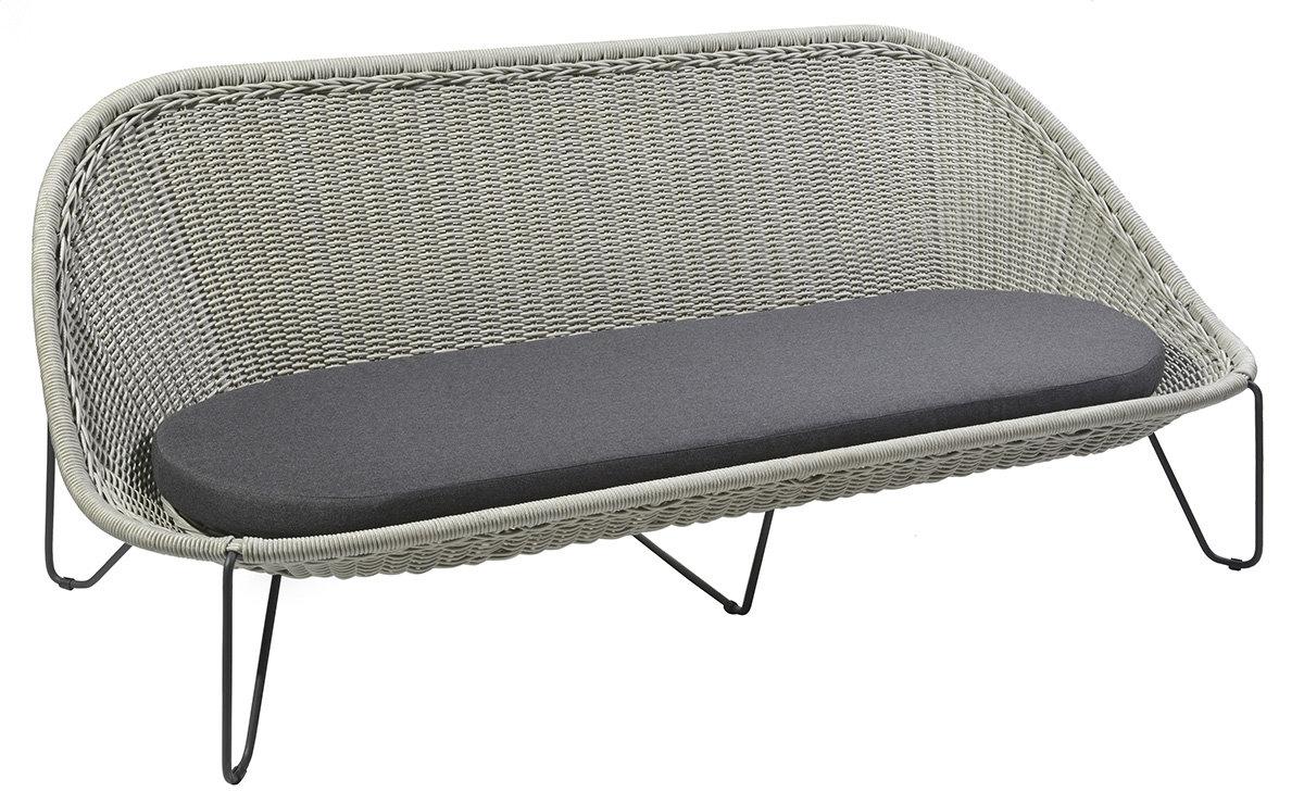 Sofa ogrodowa PASTURO 4349 Iron Grey 189x89x76cm firmy Borek