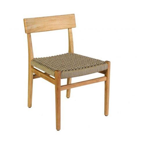 Krzesło ogrodowe VERDASIO 5620 Sand 49,5x52x76,5cm firmy Borek