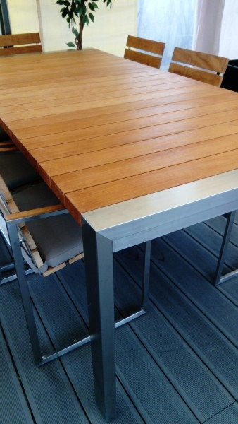 Komplet mebli ogrodowych GRANADA - stół i 6 foteli obiadowych