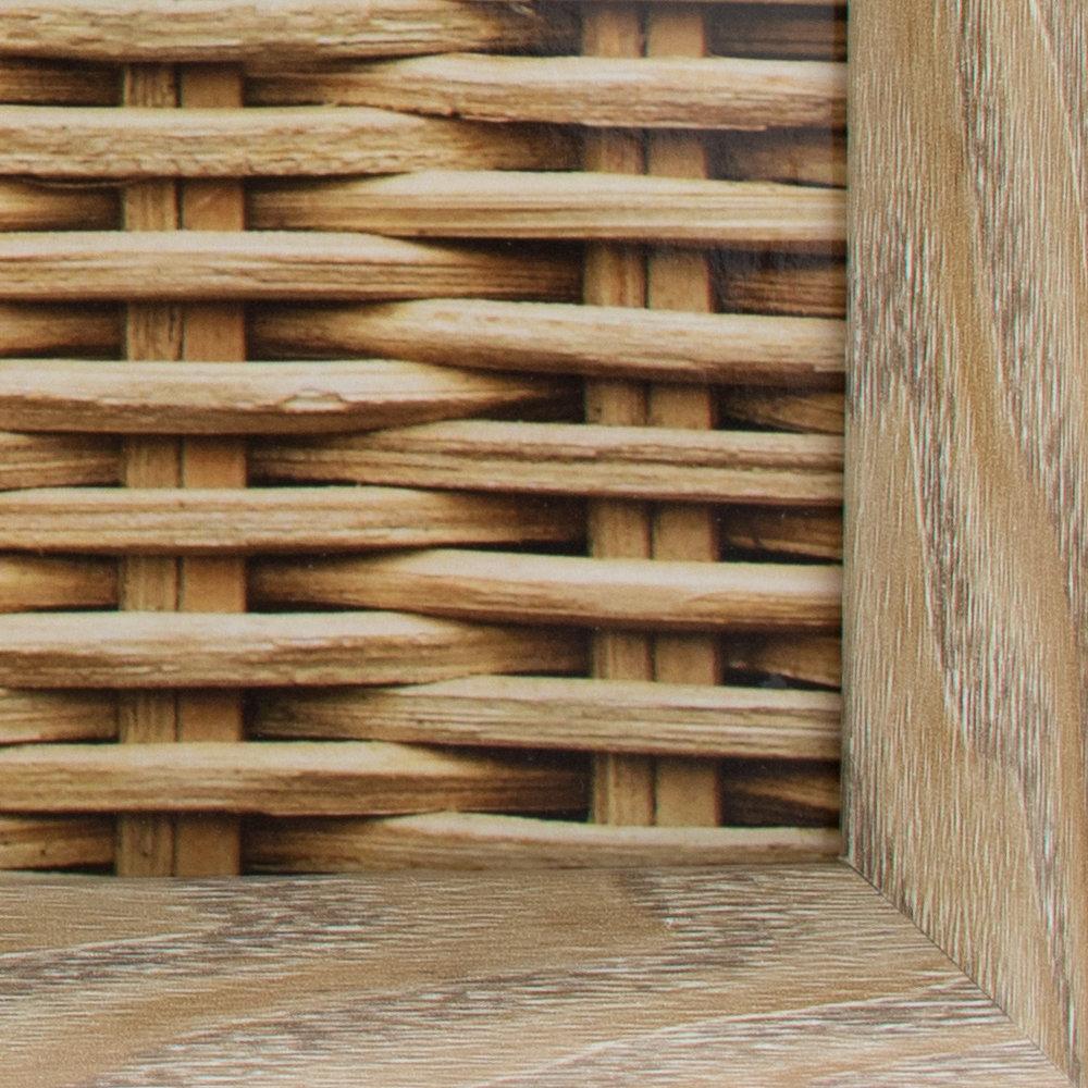 Taca z poduszką RATTAN 7004 43x33x7cm