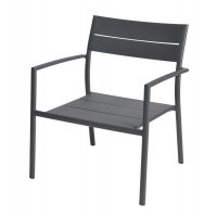 Fotel ogrodowy GRACE Lounge M2002 Anthracite firmy MAX&LUUK