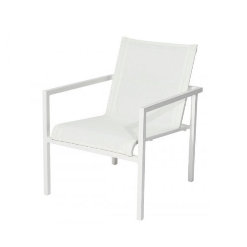 Fotel ogrodowy COLLIN Lounge M2022 White firmy MAX&LUUK