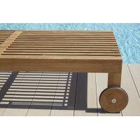 Leżak ogrodowy AMAZE 4510T firmy Cane-line