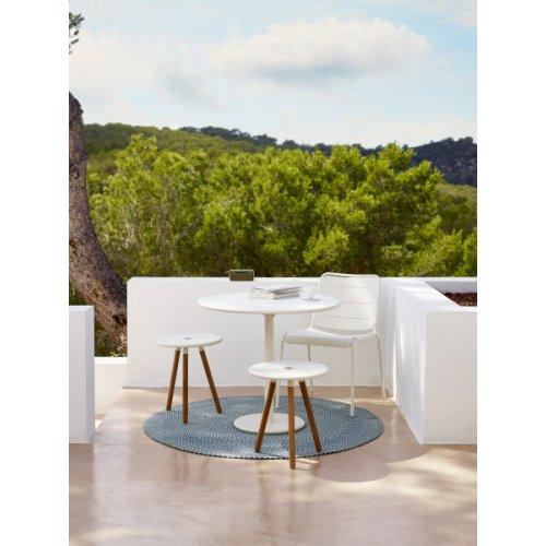 Stolik/stołek ogrodowy AREA 11009TAW firmy Cane-line