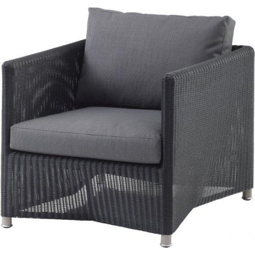 Fotel ogrodowy DIAMOND lounge 8402LGSG firmy Cane-line