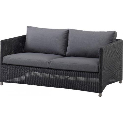 Sofa ogrodowa DIAMOND 8502LGSG firmy Cane-line