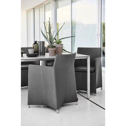 Fotel ogrodowy DIAMOND 8401TXSG firmy Cane-line