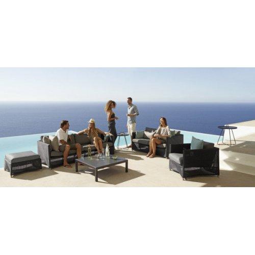 Sofa ogrodowa DIAMOND 8503LGSG firmy Cane-line