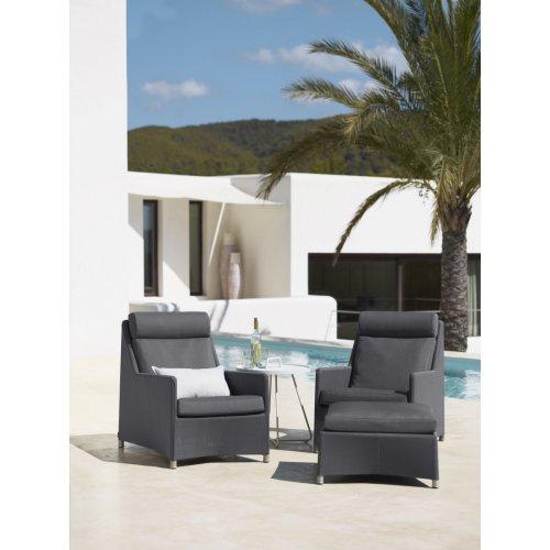 Fotel ogrodowy DIAMOND highback 8403TXSG firmy Cane-line