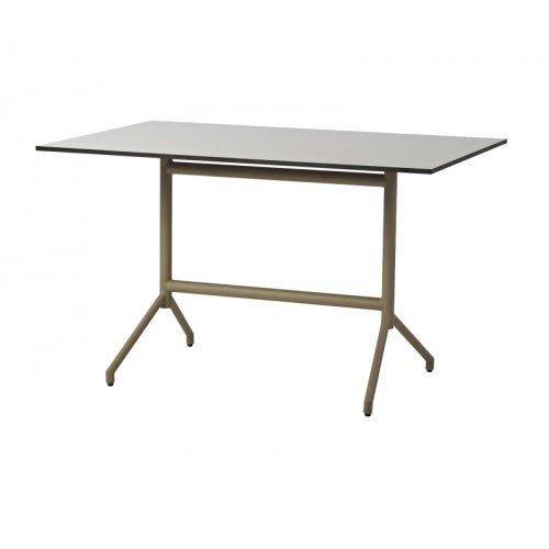 Stół ogrodowy aluminiowy AVENUE 5047ATP048HPG 120x75x74,4cm firmy Cane-line