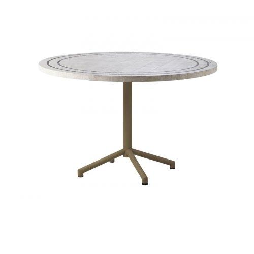 Stół ogrodowy aluminiowy AVENUE 5049ATP069TR Ø120x77cm firmy Cane-line