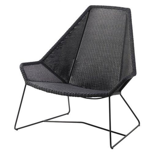 Fotel ogrodowy BREEZE Highback 5469LS 98x98x101cm firmy Cane-line