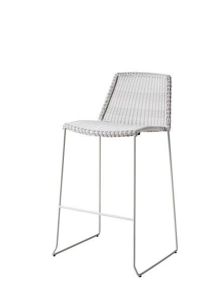 Krzesło barowe BREEZE 5465LW 53x101x53cm firmy Cane-line