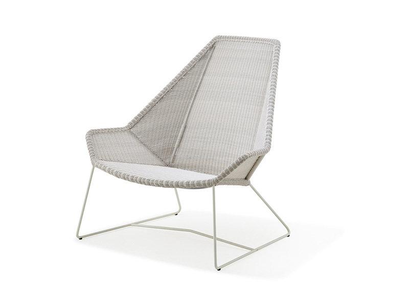 Fotel ogrodowy BREEZE Highback 5469LW firmy Cane-line