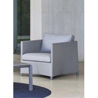 Fotel ogrodowy DIAMOND lounge 8402TXSL firmy Cane-line