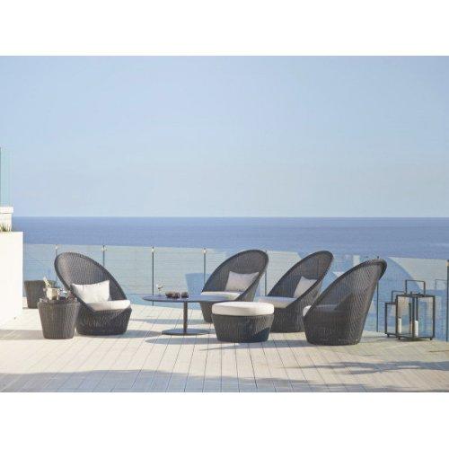 Fotel ogrodowy KINGSTON 5448LG firmy Cane-line