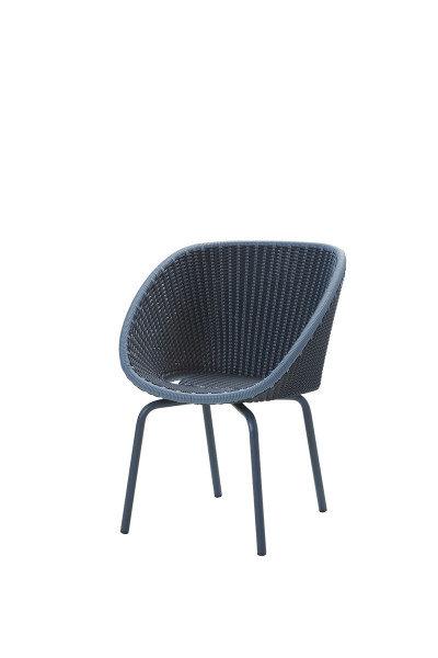 Fotel ogrodowy PEACOCK 5454BCAB 61x61x80cm firmy Cane-line