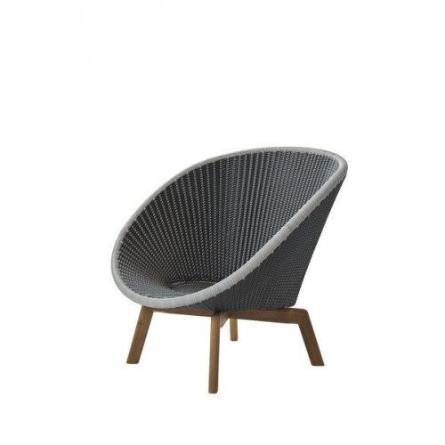 Fotel ogrodowy PEACOCK lounge 5458GIT 91x93x87cm firmy Cane-line