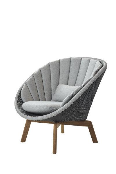 Fotel ogrodowy PEACOCK lounge 5458BCT 91x93x87cm firmy Cane-line