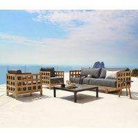 Fotel ogrodowy SQUARE 4423TSFTG firmy Cane-line