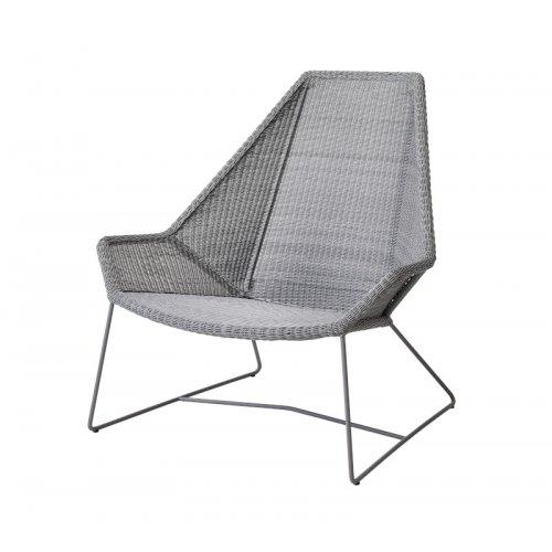 Fotel ogrodowy BREEZE Highback 5469LI 98x98x101cm firmy Cane-line