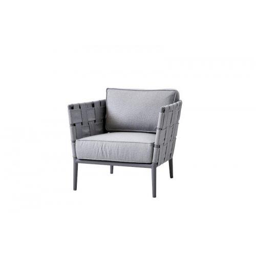 Fotel ogrodowy CONIC 8437AITL 78x82x78cm firmy Cane-line