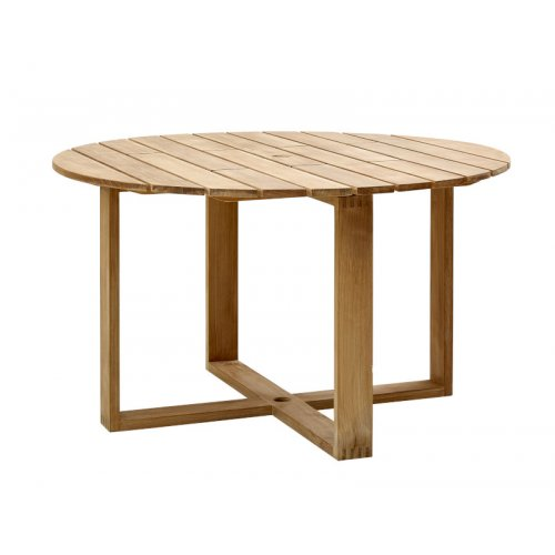 Stół ogrodowy teakowy ENDLESS 5071T Ø130x74cm firmy Cane-line