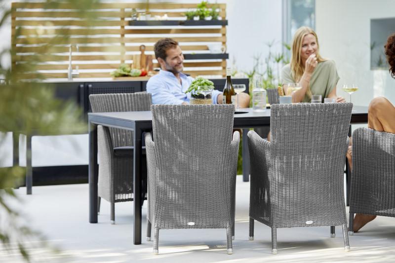 Fotel ogrodowy HAMPSTED 5430LI 57x60x86cm firmy Cane-line