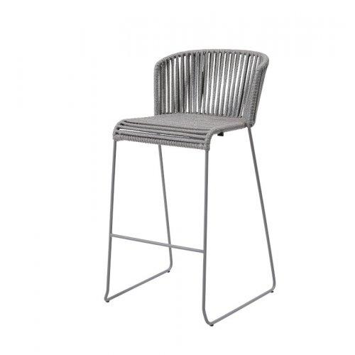 Fotel barowy MOMENTS 7445ROG 54x58x101cm firmy Cane-line
