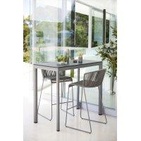 Stolik barowy ogrodowy DROP 50404AI/AL 150x75x104cm firmy Cane-line