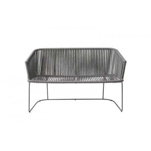 Sofa ogrodowa MOMENTS 7547ROG 126x63,5x75,5cm firmy Cane-line