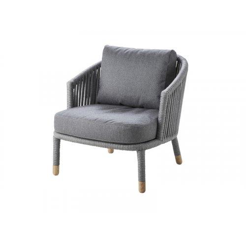 Fotel ogrodowy MOMENTS 7443ROGAITG firmy Cane-line