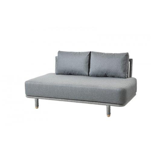 Sofa ogrodowa MOMENTS moduł środkowy 7540ROG firmy Cane-line