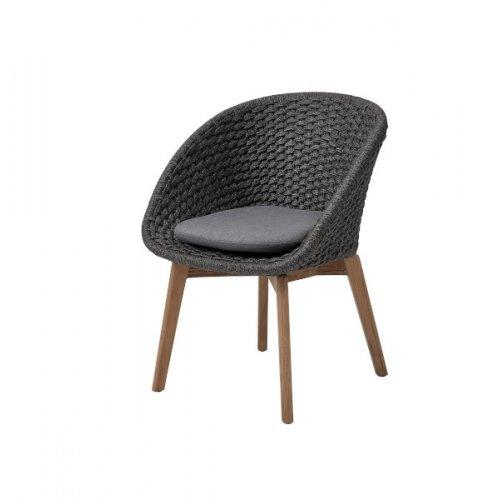 Fotel ogrodowy PEACOCK 5454RODGT 60x61x80cm firmy Cane-line