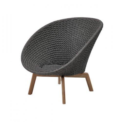 Fotel ogrodowy PEACOCK lounge 5458RODGT 91x93x87cm firmy Cane-line