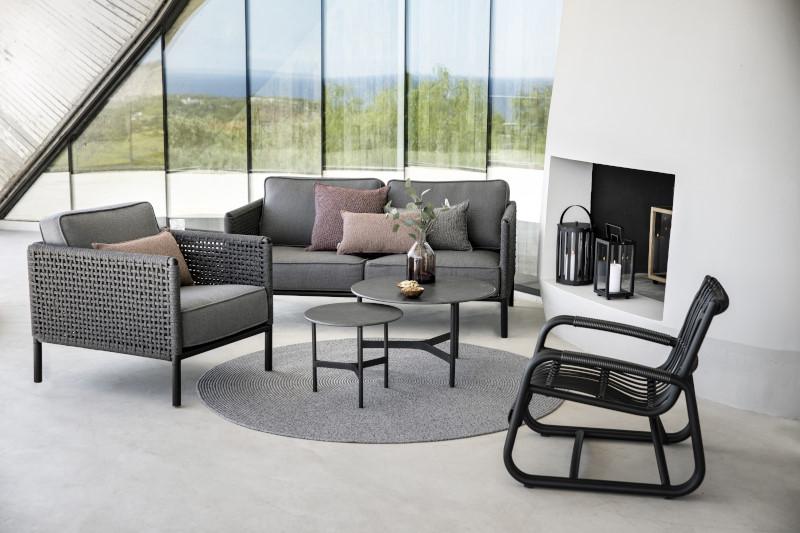 Fotel ogrodowy ENCORE 5470ALAIG firmy Cane-line