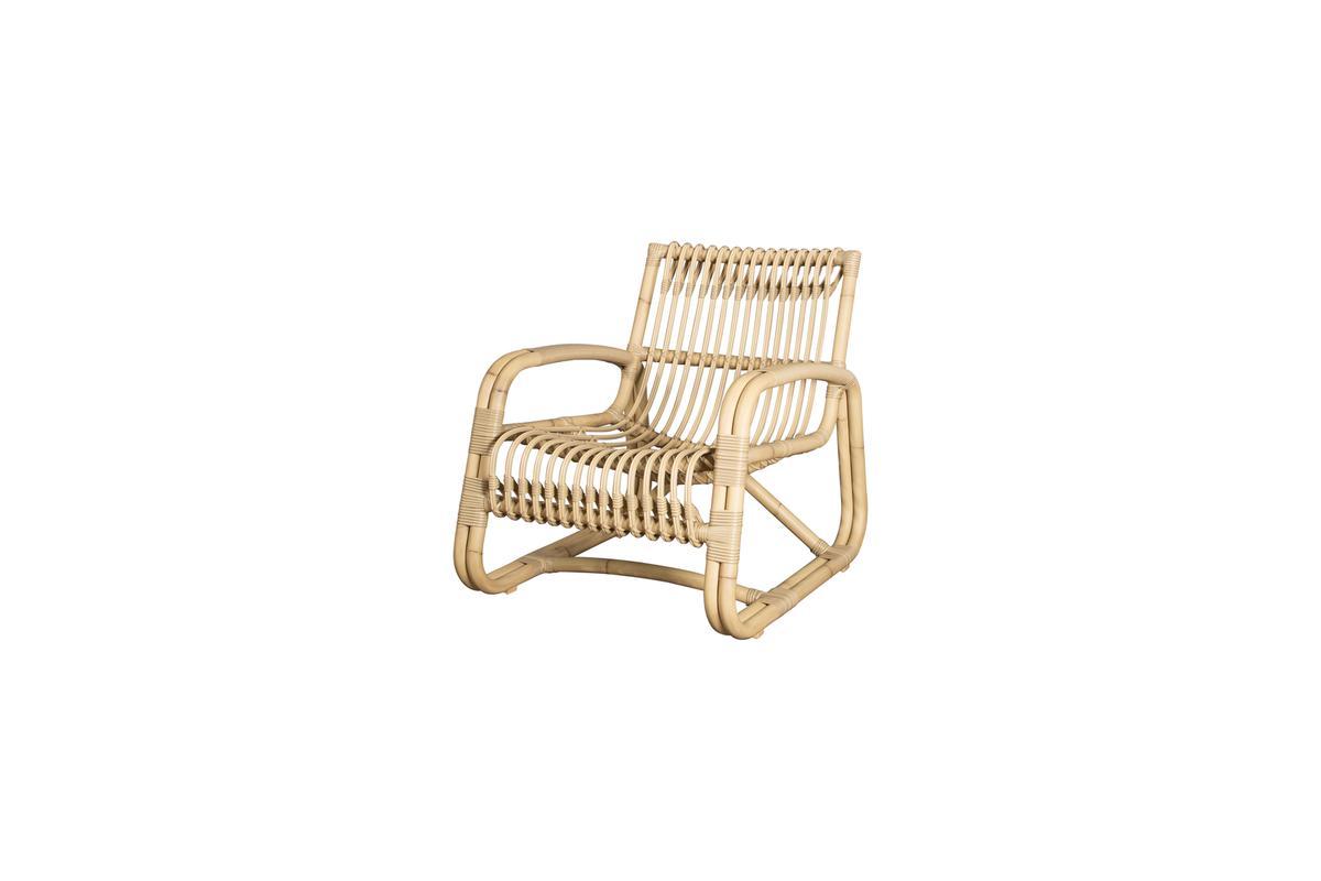 Fotel ogrodowy CURVE 57402AUU 64x77x69,5cm firmy Cane-line