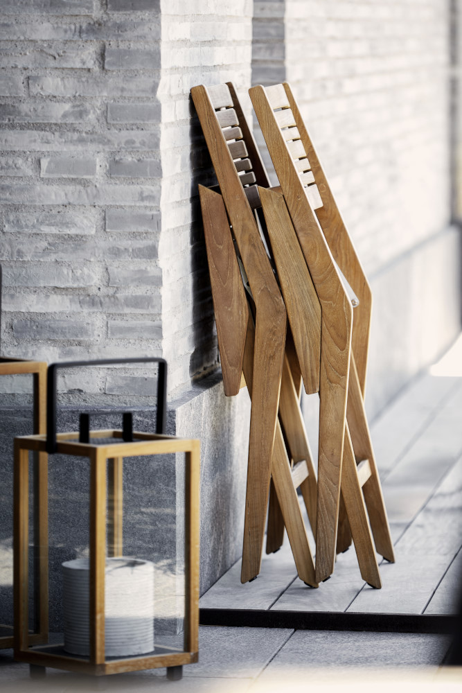 Fotel ogrodowy FLIP 54041T 56x58x86cm firmy Cane-line